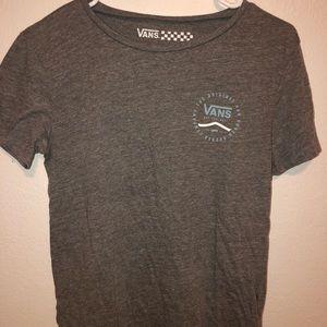 Vans grey short sleeve T-shirt